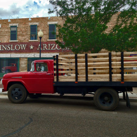 Flatbed Ford in Winslow Arizona
