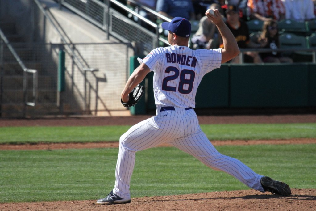 Bowden Pitching - Cubs Spring Training